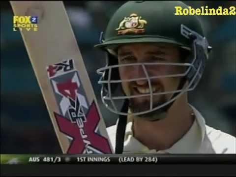JASON GILLESPIE 201* vs Bangladesh 2nd test 2005/06 DIZZY!!!!!!!!