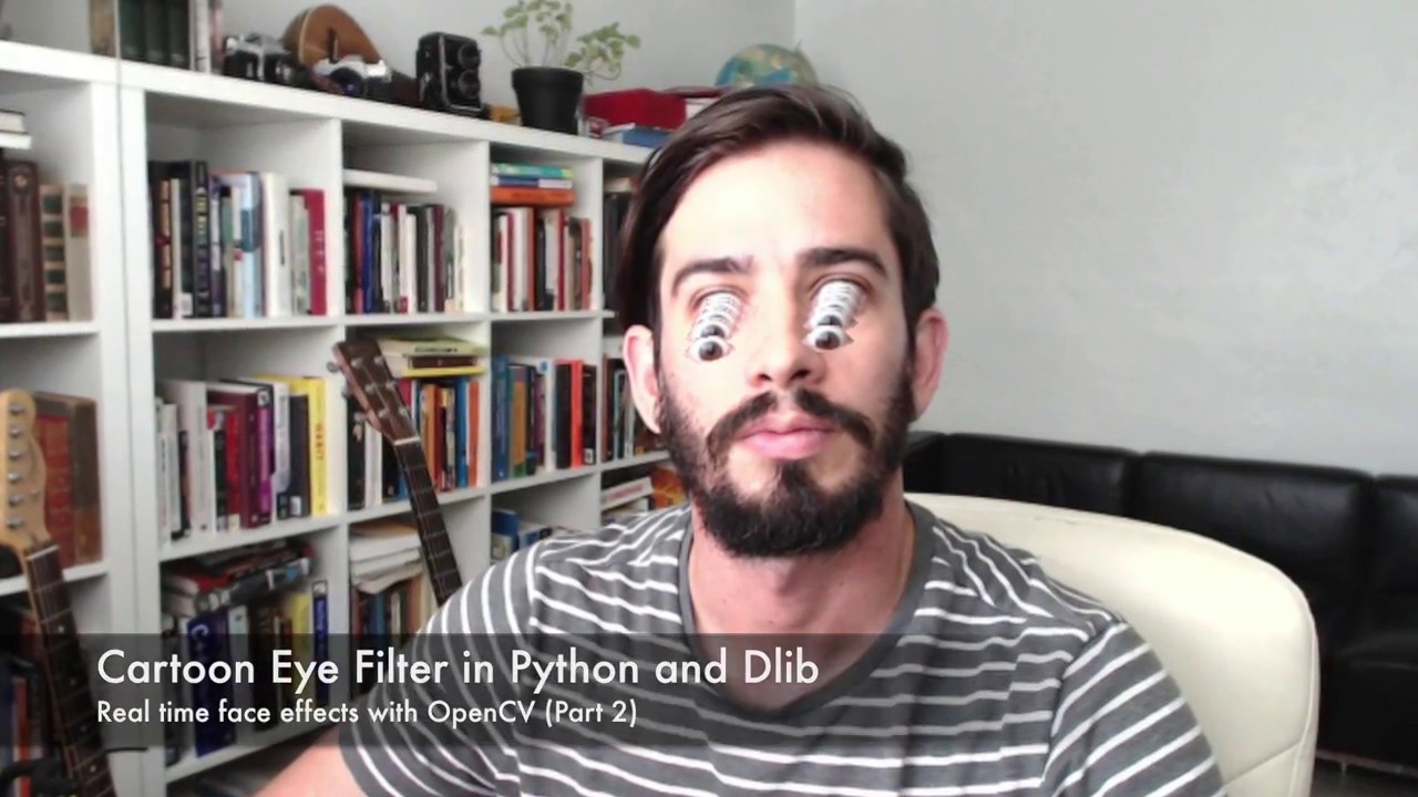 Snapchat Lens Effect in Python - Make Art with Python