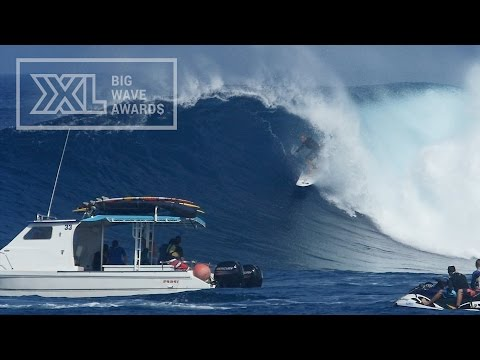 Josh Redman at Jaws - 2015 Billabong Ride of the Year Entry - XXL Big Wave Awards