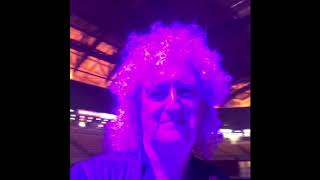 Brian May - arriving Altice Arena, Lisbon - 07062018