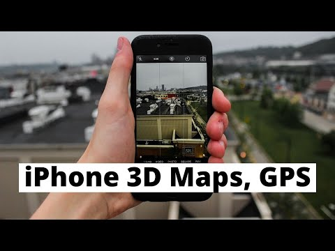 How To Use Apple Maps On IPhone - 3D Tours, Traffic, GPS