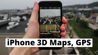 How to use Apple Maps on iPhone 6 Plus - 3D Tours, Traffic, GPS Free HD Video