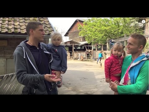 Exploring a JugendFarm (Youth Farm) in Germany with the Sundance Family