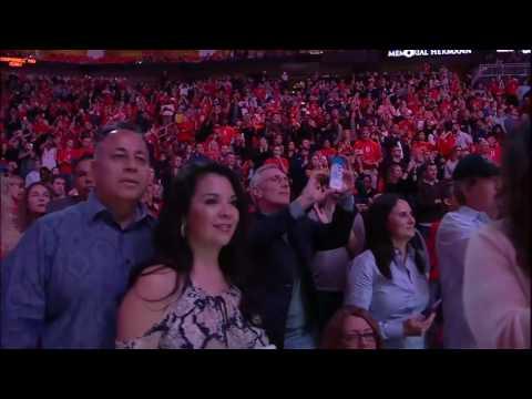 Yao Ming's Houston Rockets No. 11 Jersey FULL Retirement Ceremony 2017