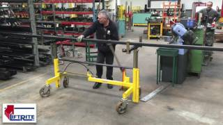 Pipe, Steel & Timber Trolley - Trans 1000 | Lift Rite