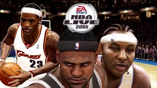 NBA LIVE 2005 | Lit A** HD Face Cam! | 2016 Allstar Weekend 🔥Gameplay! | MELO & BRON SHOW!