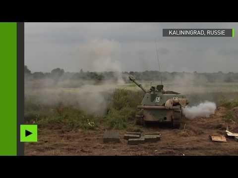 La marine russe effectue des exercices de grande ampleur à Kaliningrad