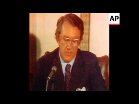SYND 11 11 75 PREMIER WHITLAM WHITLAM DISMISSED BY GOVERNOR GENERAL