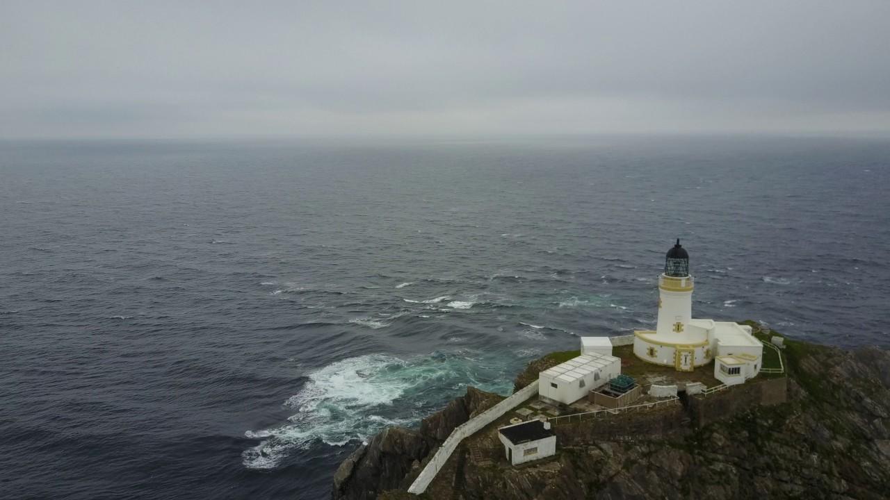 Muckle Flugga Lighthouse - YouTube