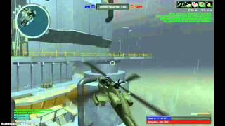 Explodindo helicopteros no Red Crucible 2