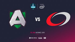 Alliance vs compLexity Gaming, ESL One Katowice 2019, bo2, game 1, [Lum1Sit]