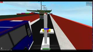 Driving UK buses on roblox