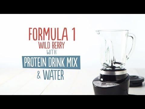 How to Make an Herbalife Formula 1 Shake: F1 + PDM + water