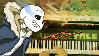 Live Piano: Spooky MEGALOVANIA | An Improvised Arrangement | Undertale