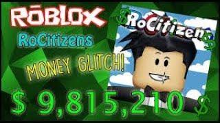 Roblox RoCitizens bank bug money trick (unscheduled)
