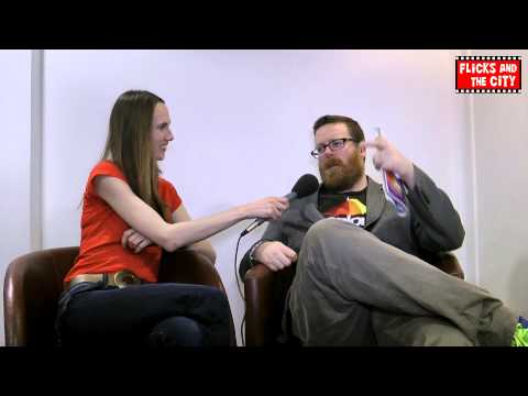 Frankie Boyle interview on comic books, comic cons & fandom