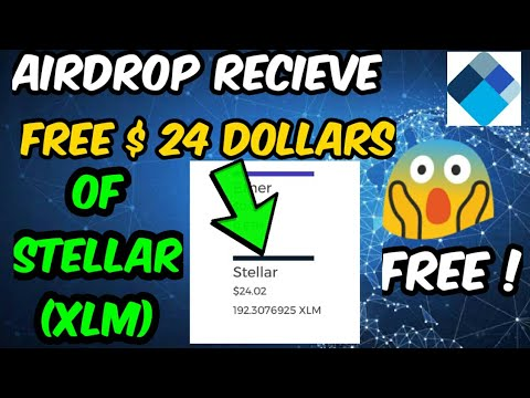 free $24 dollar of stellar XLM withdrawable from blockchain