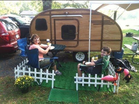 Teardrop trailer build 2