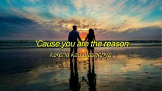 Calum Scott - You Are The Reason - Cover By Alexandra Porat (lirik Terjemahan)