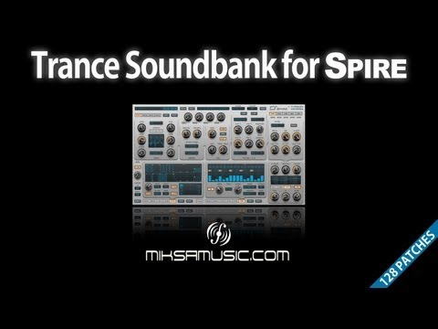Trance Soundbank for Reveal Sound's Spire synthesizer