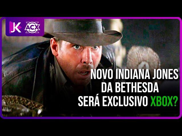 BOMBA! Indiana Jones feito pela Bethesda é anunciado e pode ser EXCLUSIVO do XBOX