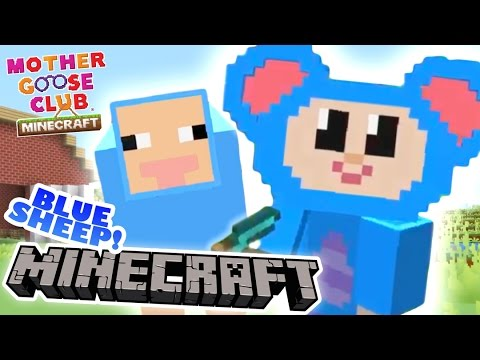 Mother Goose Club Minecraft | Ep 1 | Eep and the Lost Sheep | New Minecraft Adventure