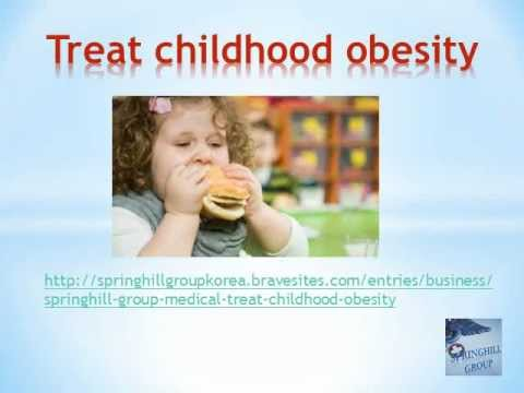 Springhill Group medical, treat childhood obesity
