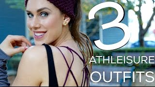 3 Athleisure Outfits For A Comfy, Healthy Li...