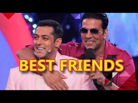Salman Khan & Akshay Kumar The New Best Buddies In BTown  Bollywood News