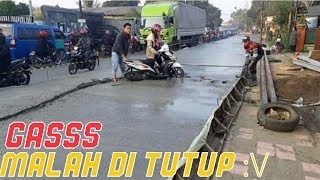 Prank Most DANGER + DARE In The Road Nutup Street