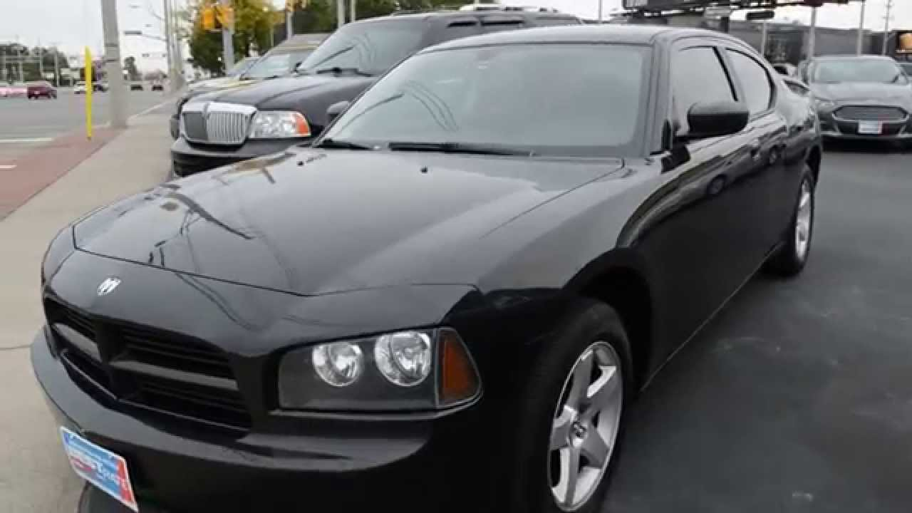 2008 dodge charger black youtube for 2008 dodge charger motor
