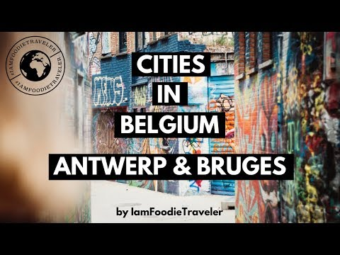 Belgium Cities - Antwerp and Bruges (TRAVEL STORY #2) by @iamfoodietraveler