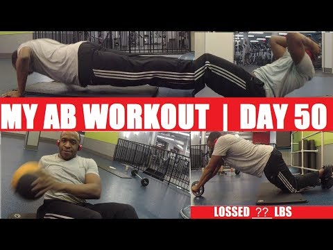 MY AB WORKOUT Day 50 | Six Pack Evolution | 6 Pack Abs in 100 days