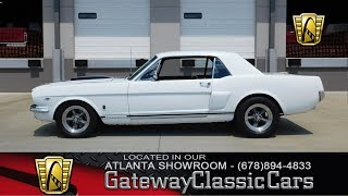 1966 Ford Mustang GT - Gateway Classic Cars of Atlanta #392