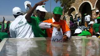 Djibouti:  La grande marche IOG2016 a ASSAJOG   07/11/2015