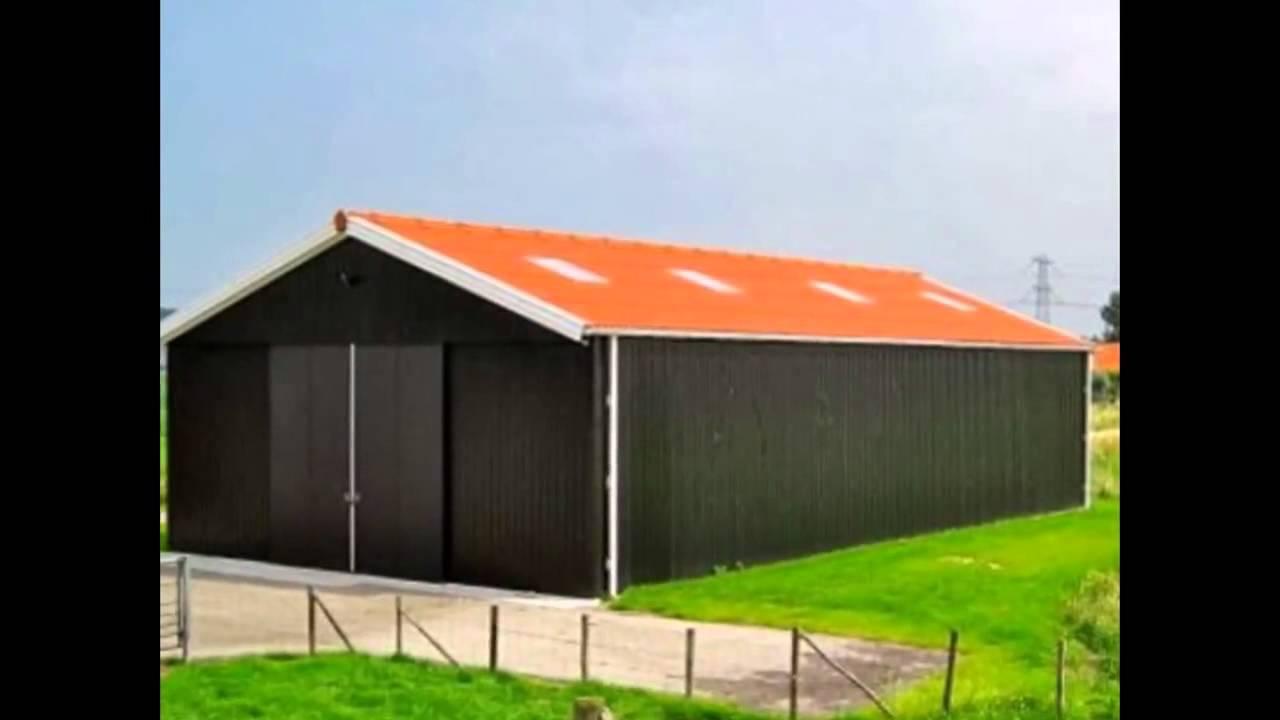 Hangar metallique youtube for Porte hangar coulissante