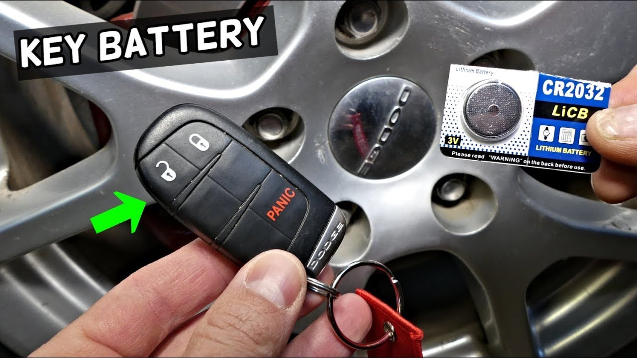 dodge hellcat key fob battery HOW TO REPLACE KEY FOB BATTERY ON DODGE CHALLENGER 1 1 1 1 1  1 1