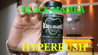 BEST FAT BURNER -BLACK MAMBA HYPERRUSH | ARJUN SINGH