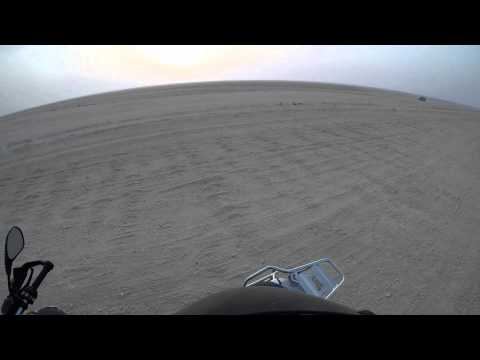 Ride out to Zekreet, West Coast of Qatar