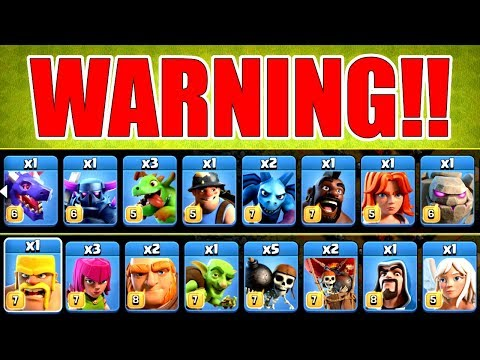 DON'T TRY THIS IN CLASH OF CLANS! - SPELLS ARE NOT PERMITTED!!