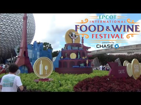 2016 EPCOT International Food and Wine Festival Tour & Review