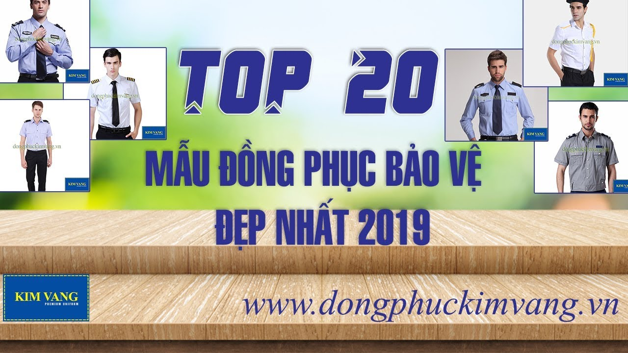 TOP 20 Mẫu Đồng Phục Bảo Vệ Đẹp Nhất 2019