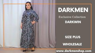 Модные и красивые женские платья для женщин размера плюс Оптовые продажи Турция Стамбул