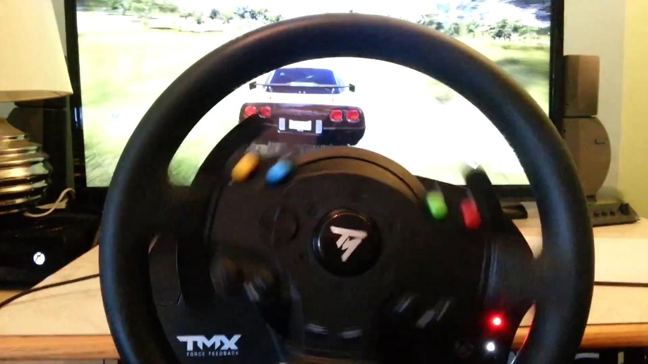 thrustmaster tmx force feedback steering wheel review. Black Bedroom Furniture Sets. Home Design Ideas