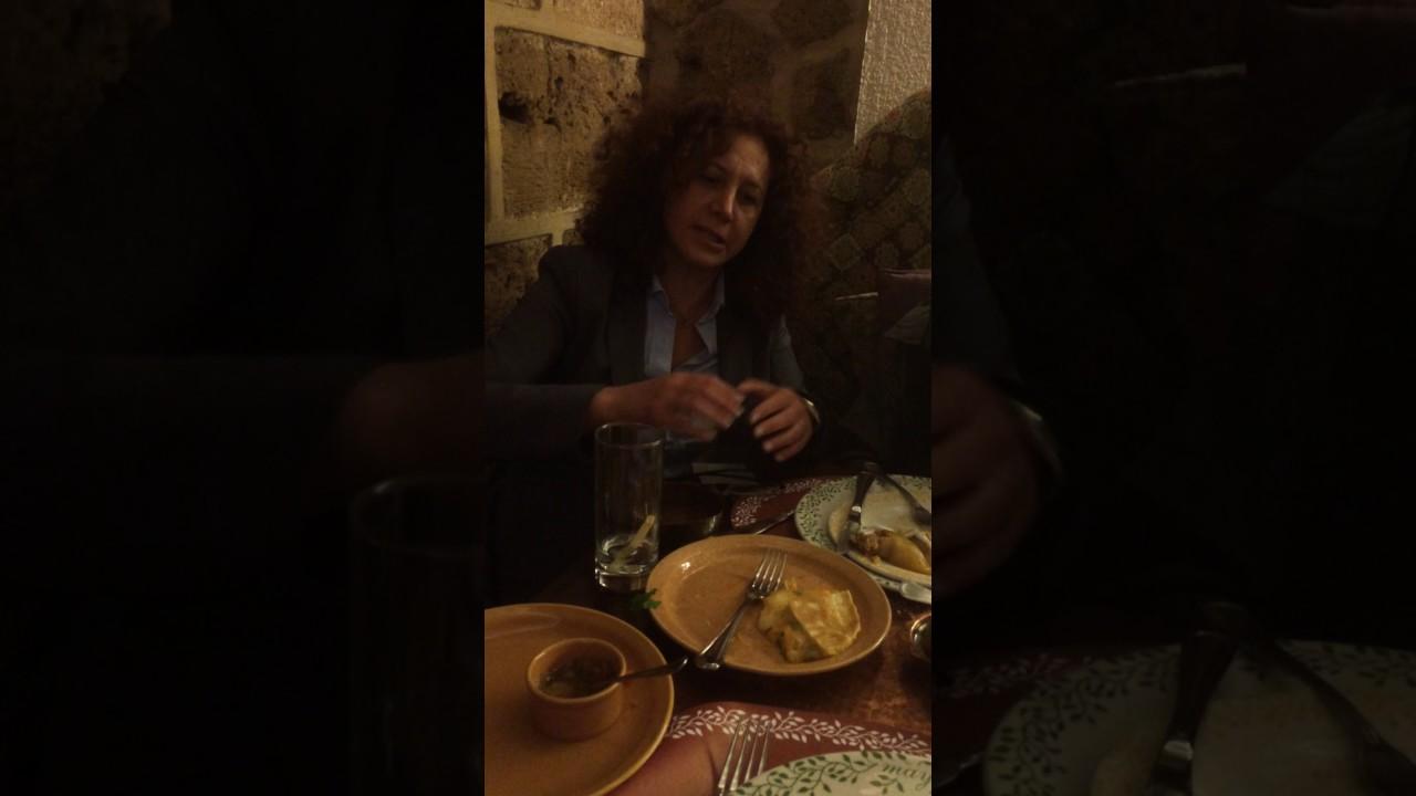 Aline kamakian owner of mayrig beirut lebanon youtube for Armenian cuisine aline kamakian