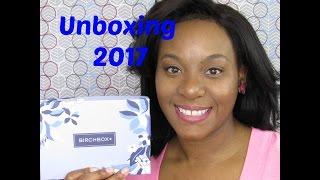 march birchbox unboxing 2017