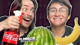 Trying LIFE HACKS with Michael Reeves! - 10 Minute Power Hour