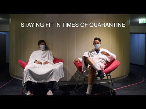 KEEPING FIT IN QUARANTINE WITH NATHAN HAAS AND ATTILIO VIVIANI
