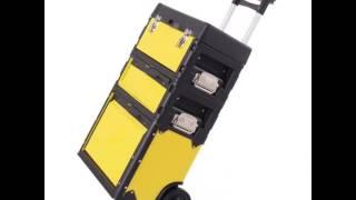 Costway Rolling Portable Metal Trolley Toolbox