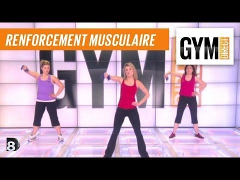 Cours gym : rent musculaire 16 : Avec des poids